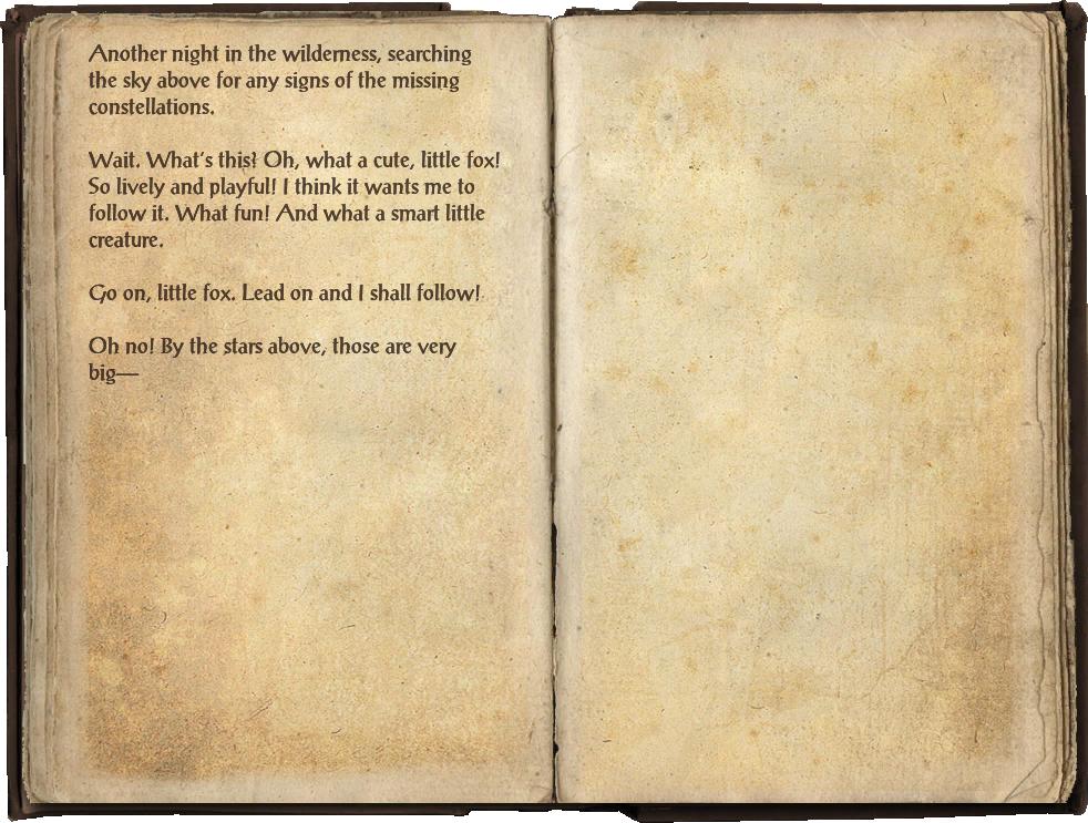 Star-Gazer Merith's Journal