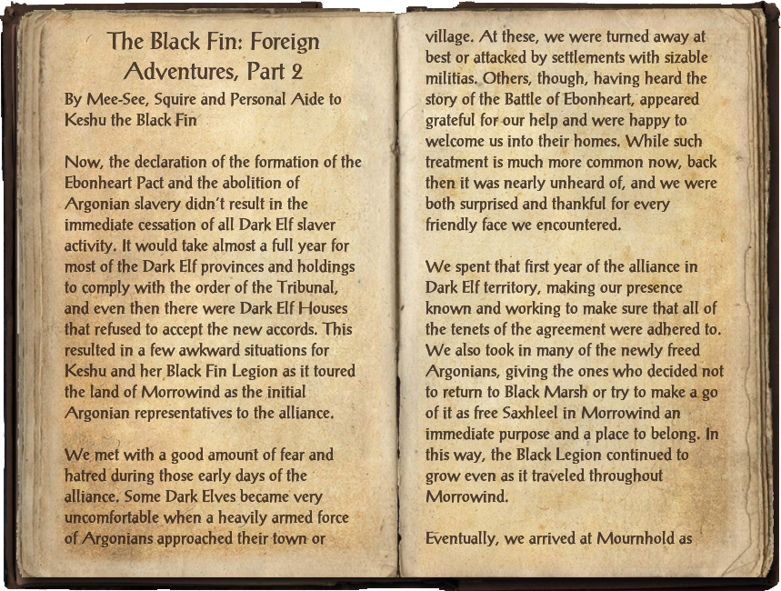 The Black Fin: Foreign Adventures, Part 2
