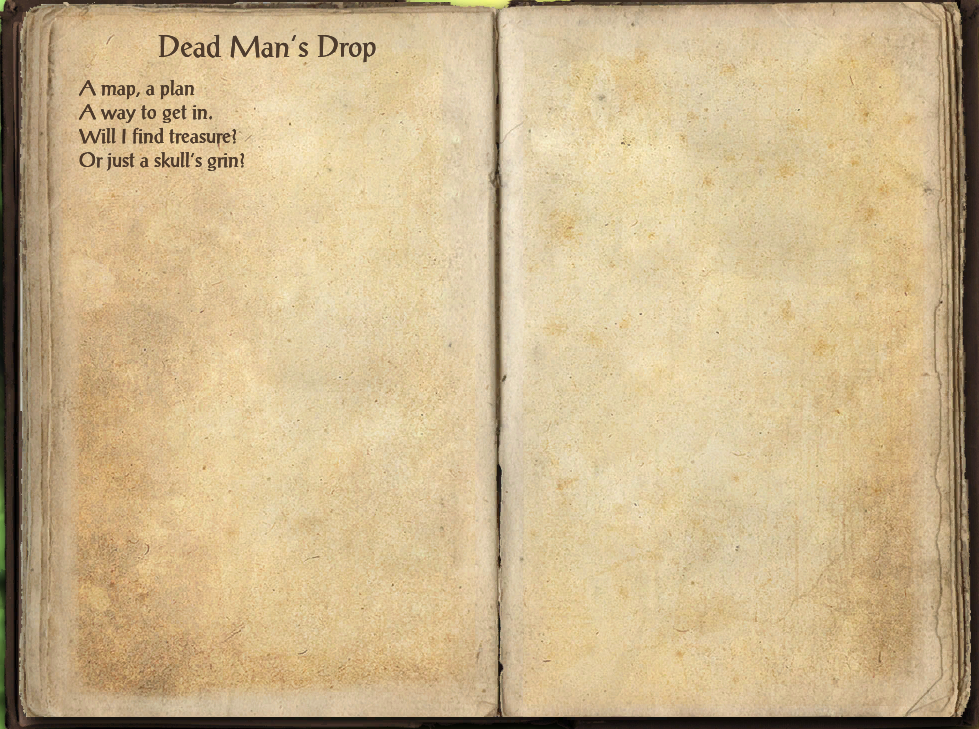 Dead Man's Drop (Book)