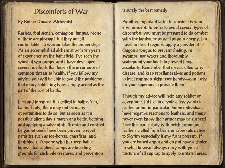 Discomforts of War