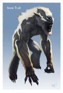 Troll śnieżny (Conceptart) by Ray Lederer