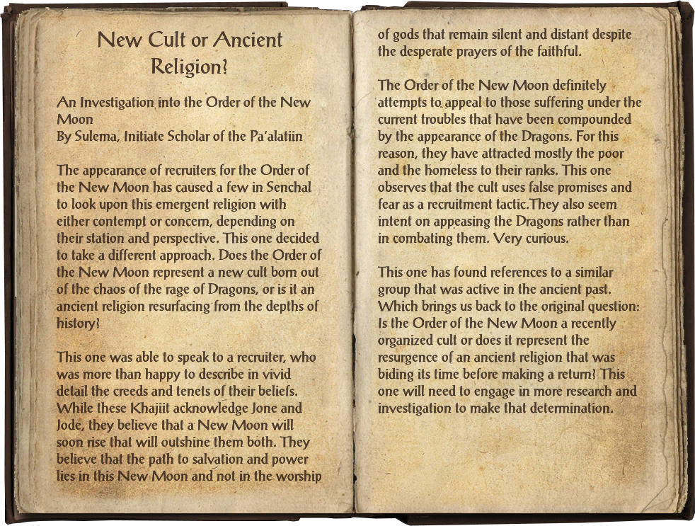 New Cult or Ancient Religion