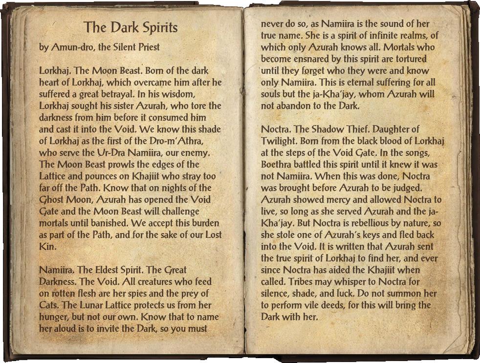 The Dark Spirits