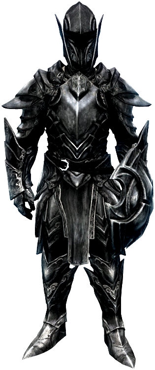 Эбонитовое снаряжение (Skyrim)