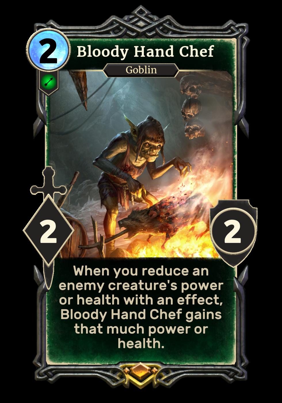 Bloody Hand Chef