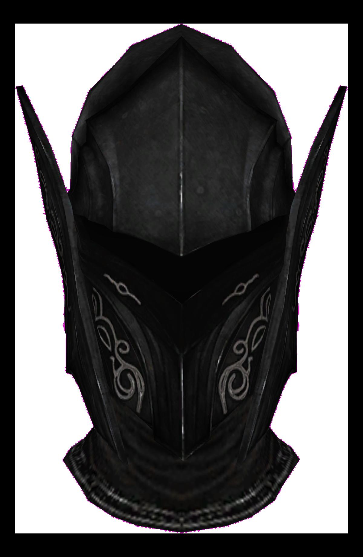 Ebony Helmet (Skyrim)