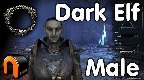 Elder Scrolls Online -- Dark Elf Male - Character Creation-0
