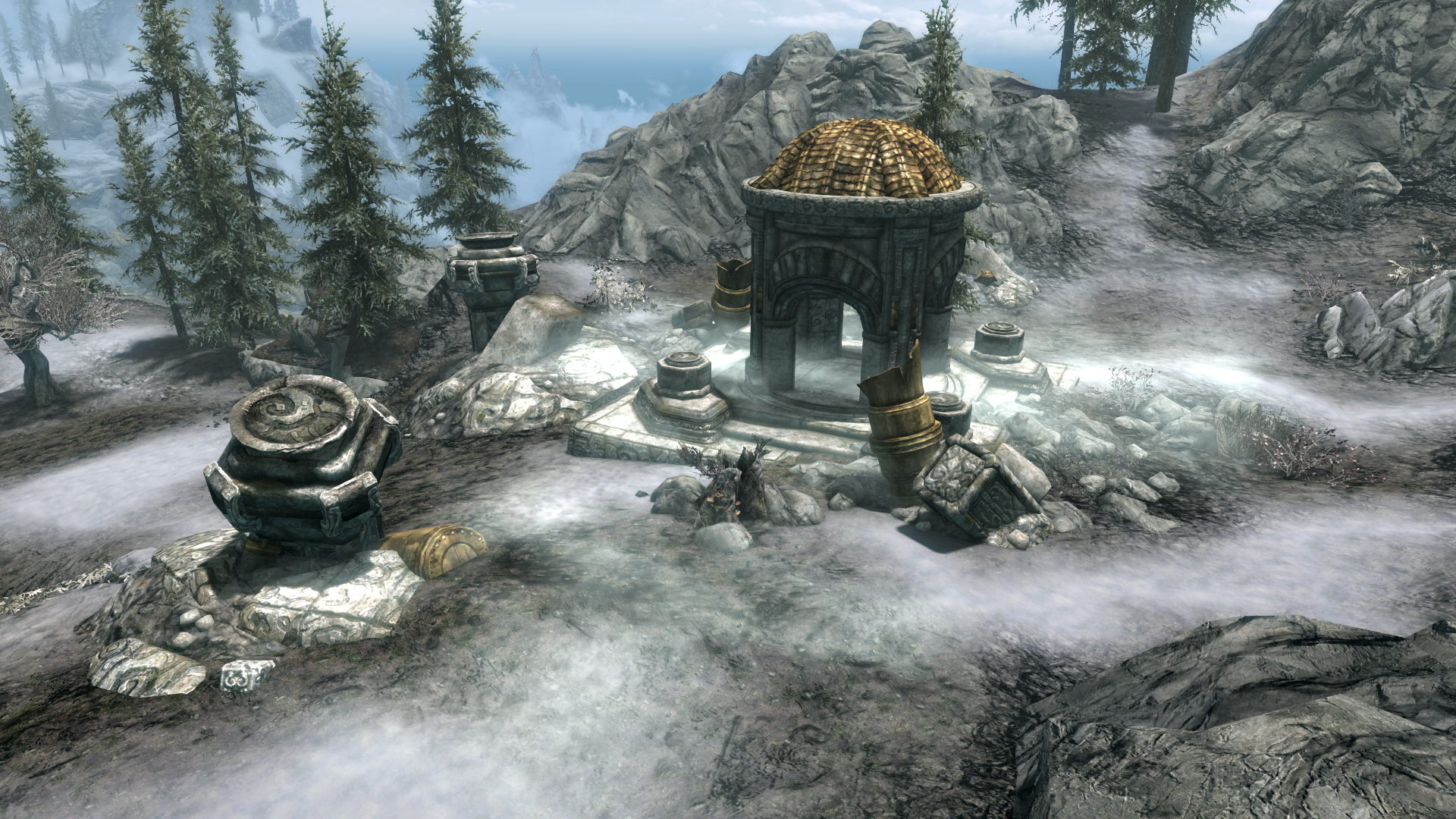 Dwarven Ruins: Lair of the Wispmother