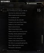 Skyshard - Reaper's March