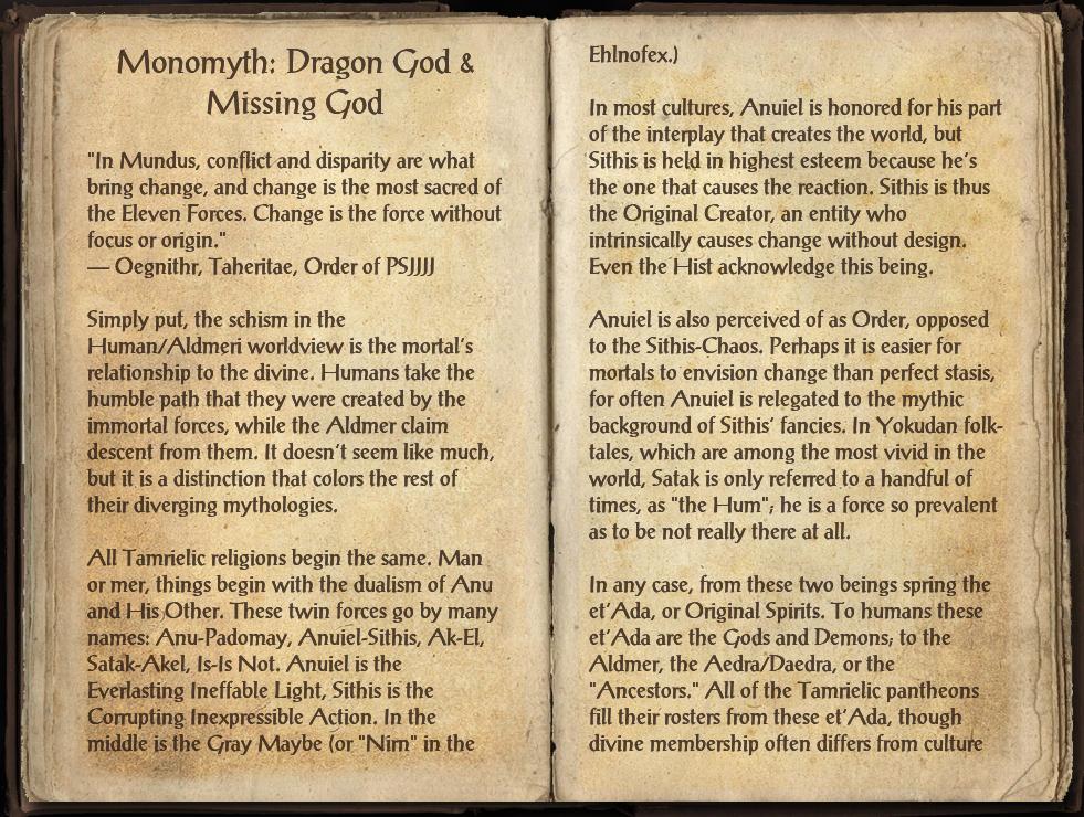 Monomyth: Dragon God & Missing God