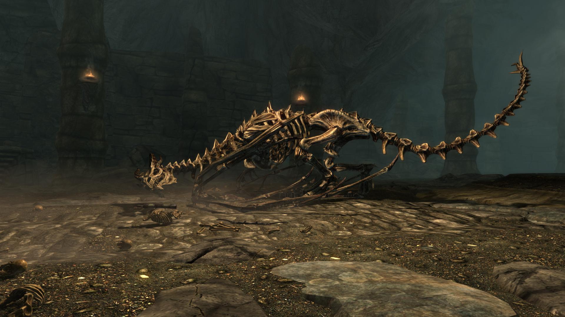 Skeletal Dragon (Skyrim)