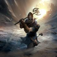 Stormcloak Skirmisher card art