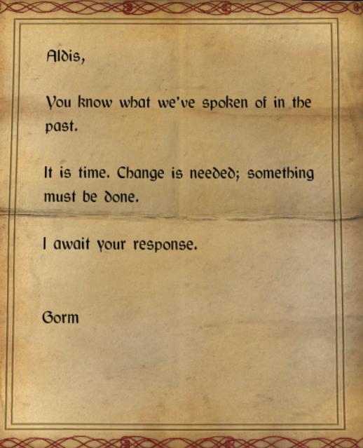 For the Good of Morthal