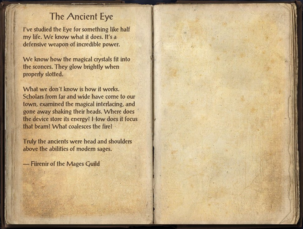 The Ancient Eye