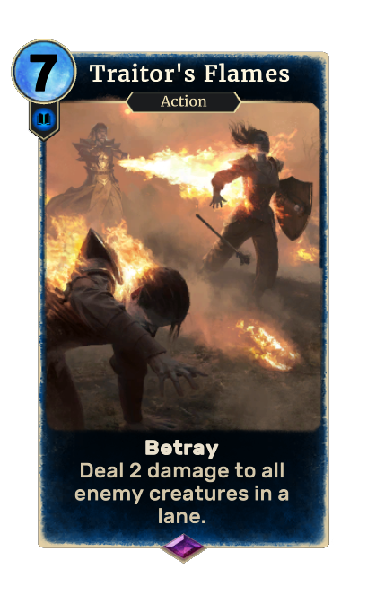 Traitor's Flames