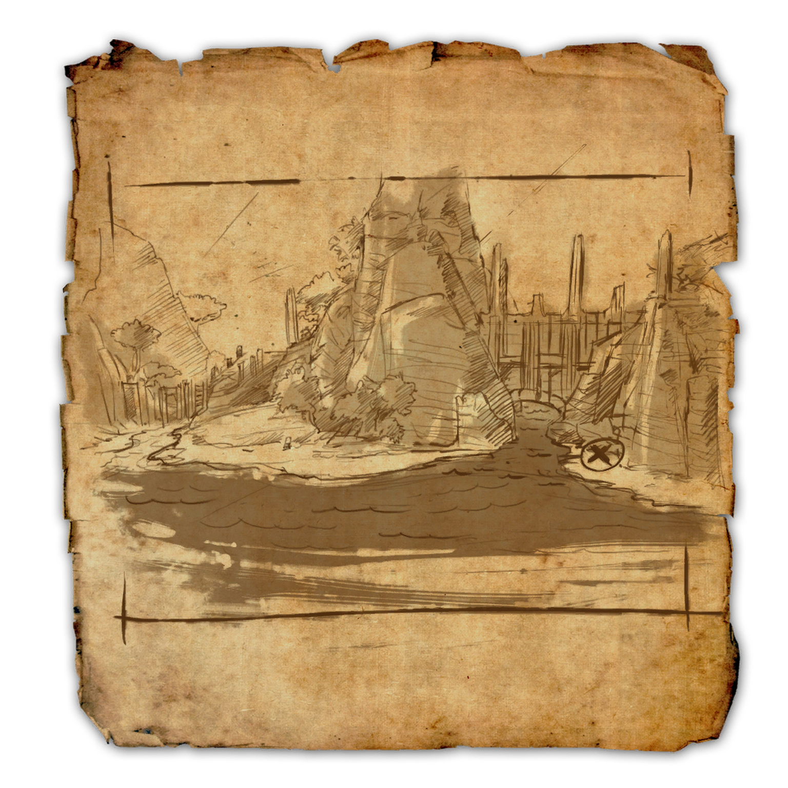 Auridon Treasure Map VI