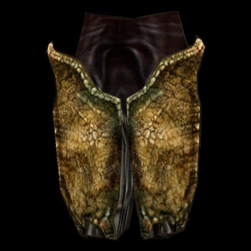 Bonemold Greaves (Morrowind)