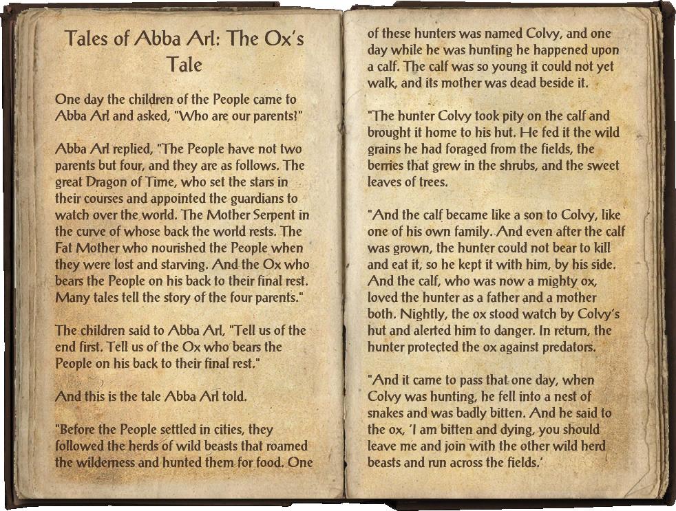 Tales of Abba Arl: The Ox's Tale