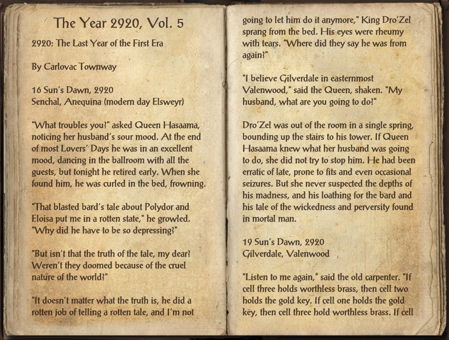 The Year 2920, Vol. 5