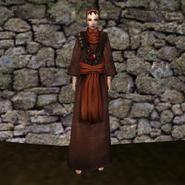 Простая мантия 13 (Morrowind) жен
