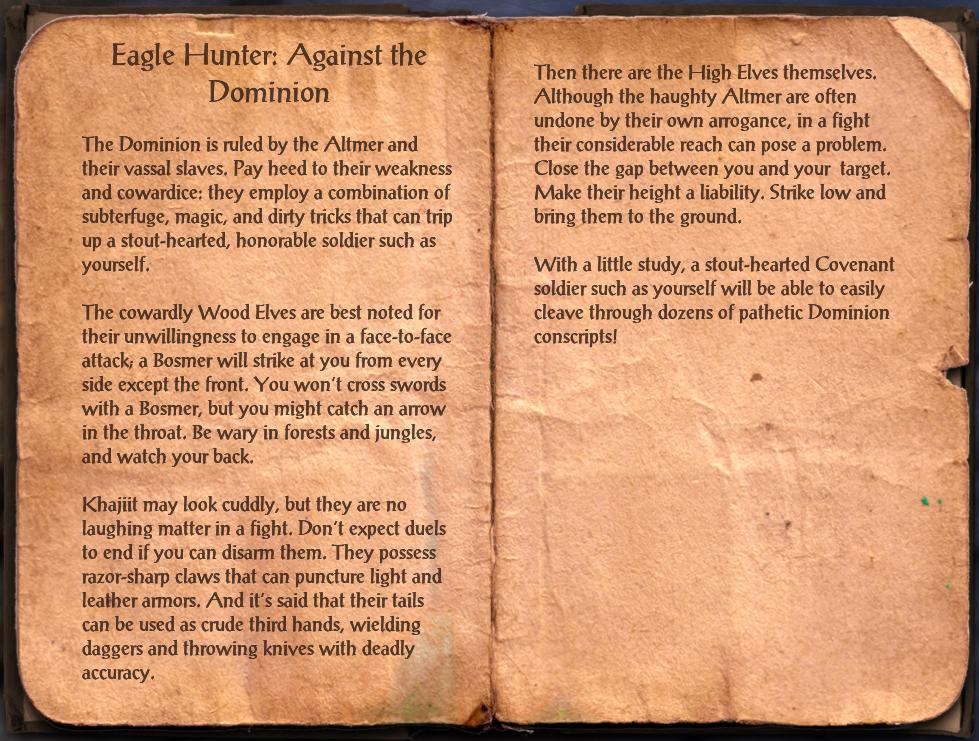 Eagle Hunter: Against the Dominion