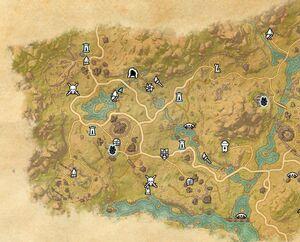 Карта сокровищ Дешаана II (карта)