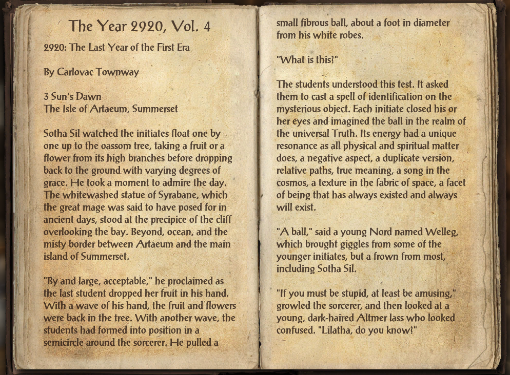 The Year 2920, Vol. 4