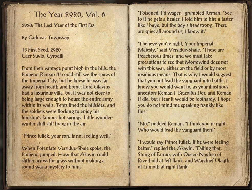 The Year 2920, Vol. 6