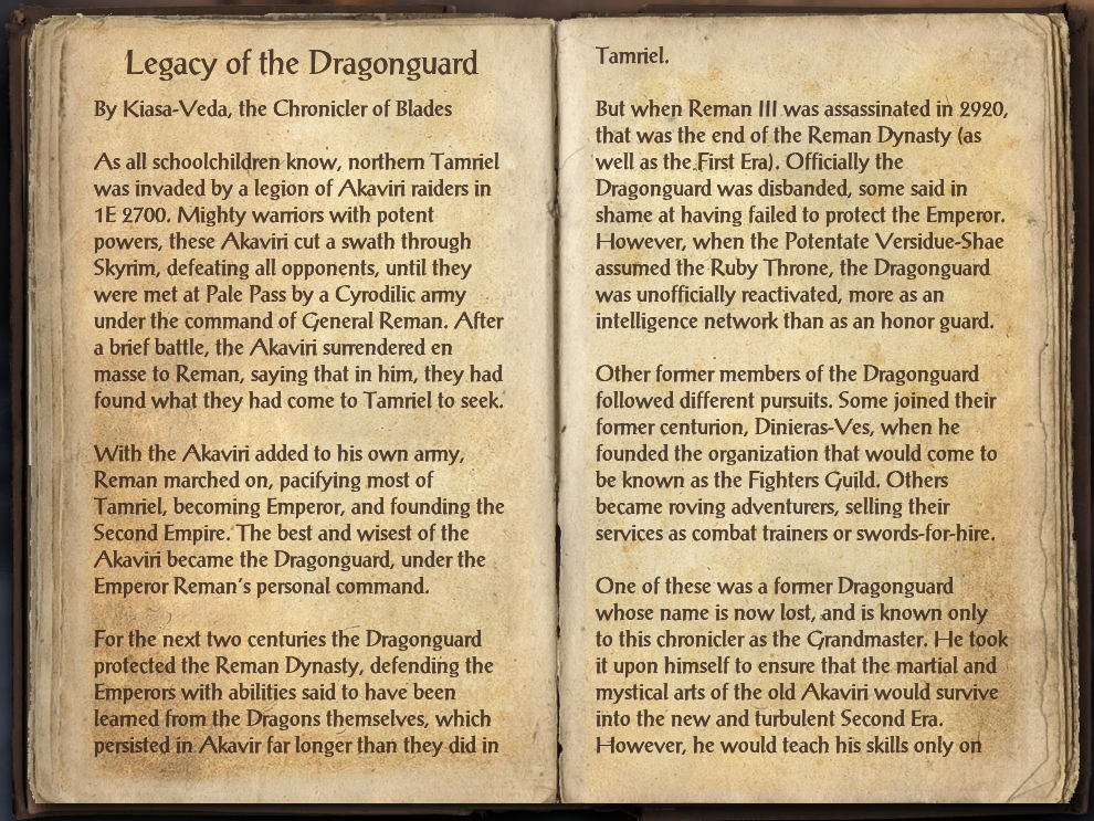 Legacy of the Dragonguard