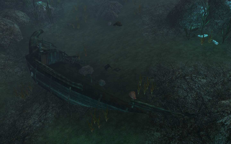 Забытые обломки корабля (Западное Нагорье)