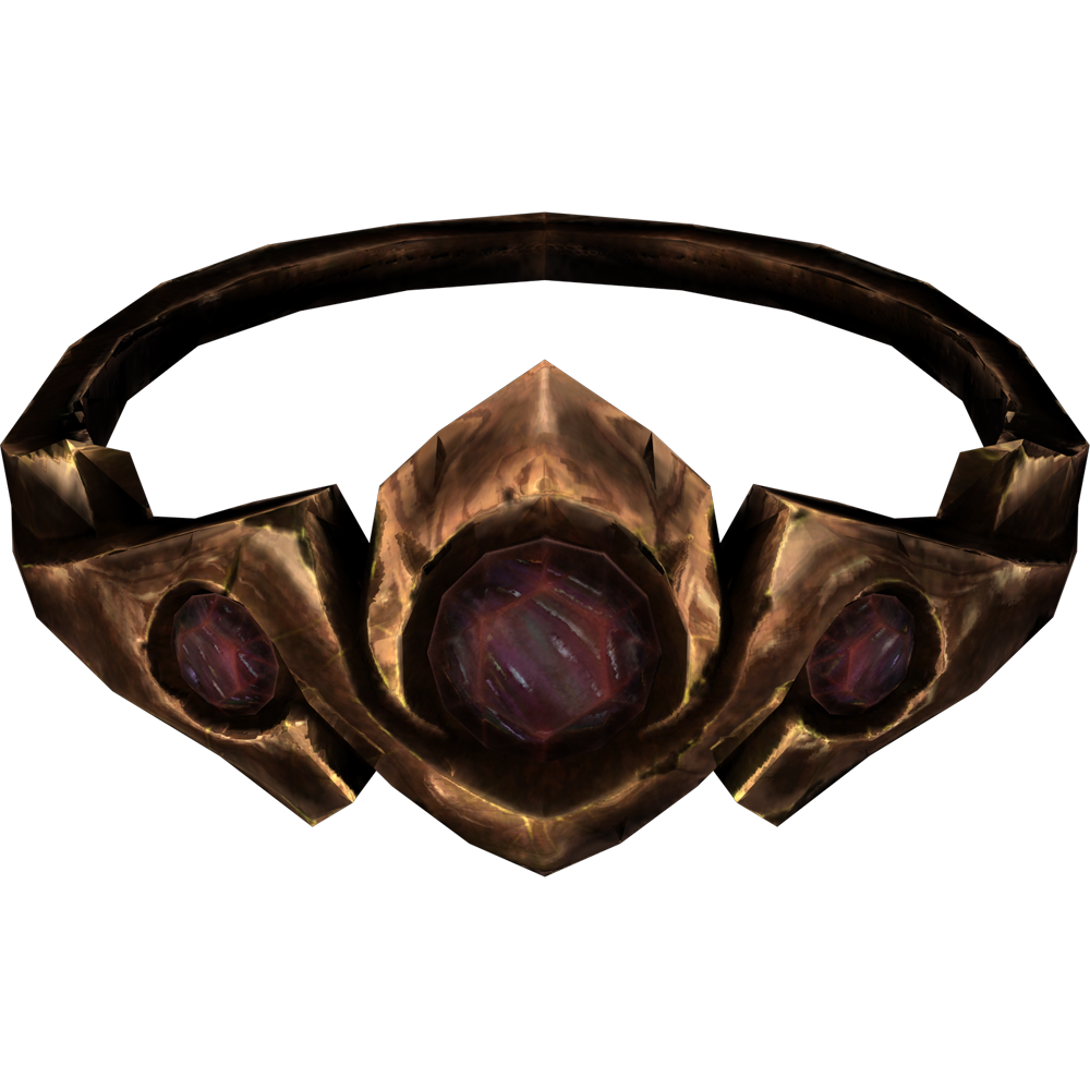 Copper and Ruby Circlet