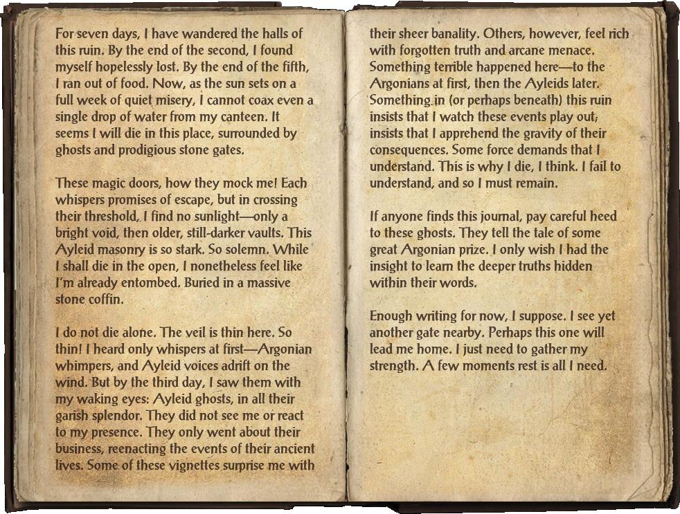Doomed Explorer's Journal