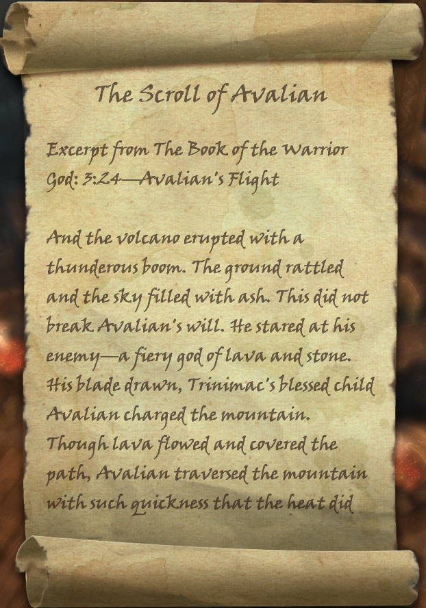The Scroll of Avalian