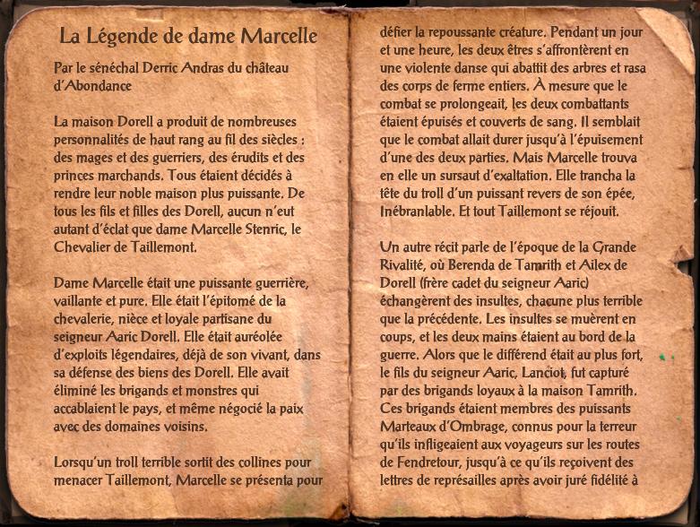 La Légende de dame Marcelle