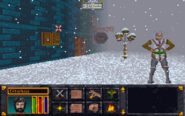 The Elder Scrolls - Arena in-game screenshot (MS-DOS)