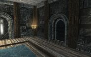 Военная комната. Дверь в покои Ярла