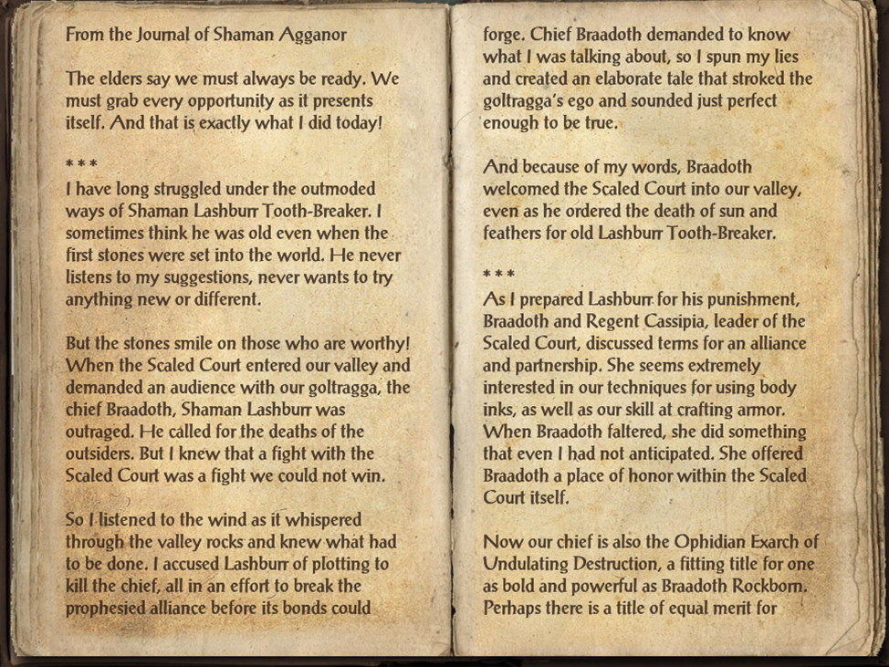 Agganor's Journal