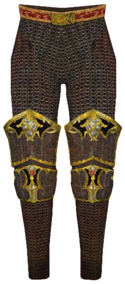 Imperial Dragon Greaves