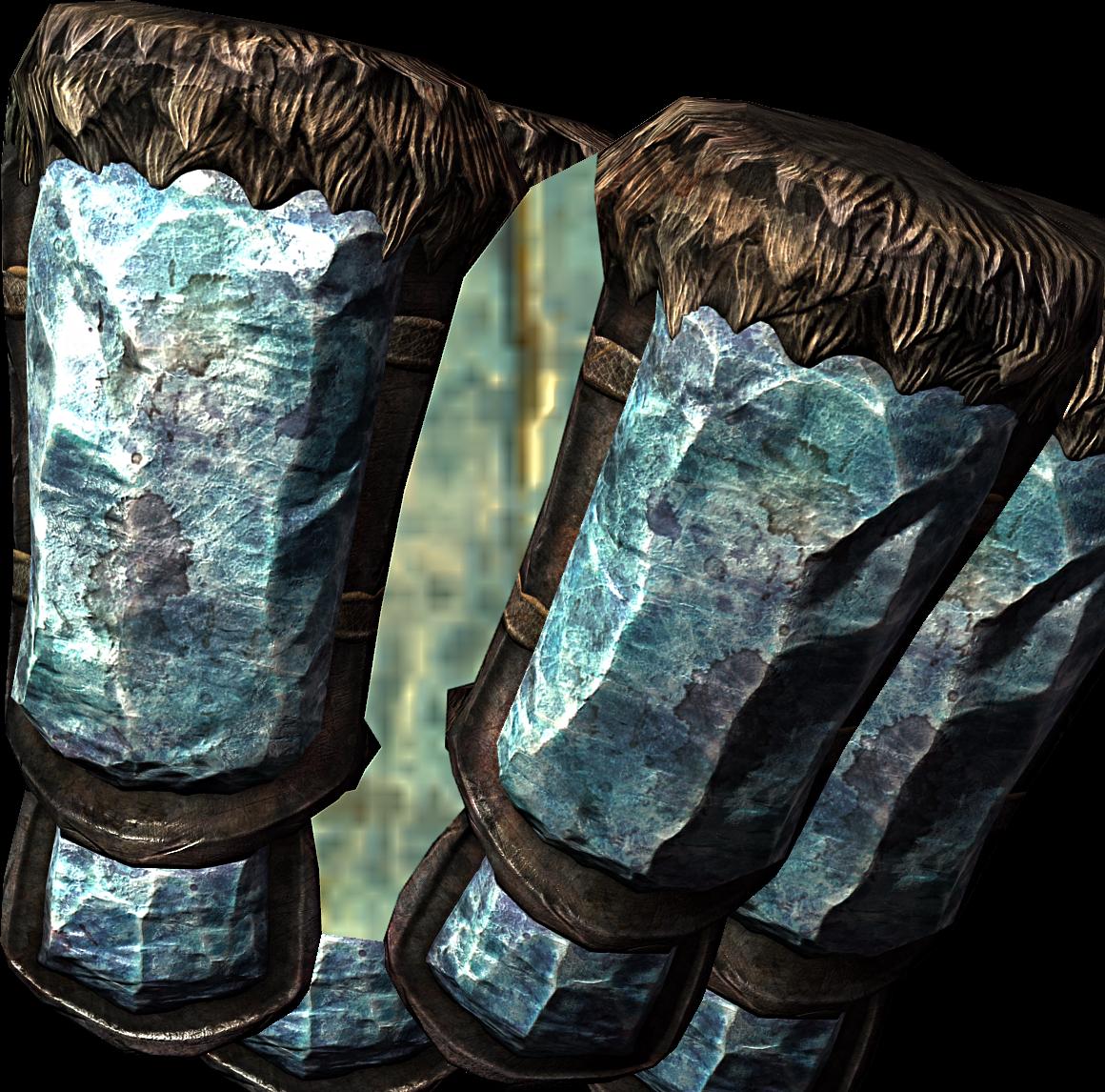 Stalhrim Gauntlets (Skyrim)