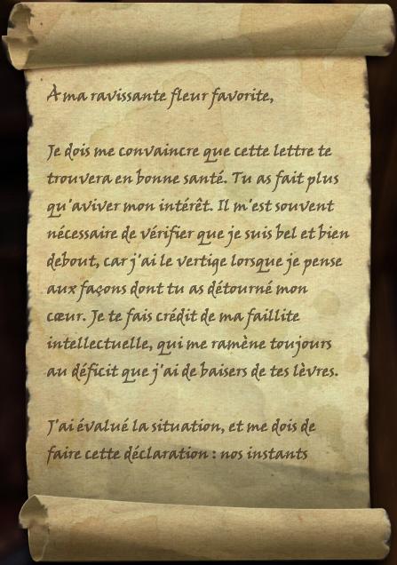 Lettre d'amour atroce