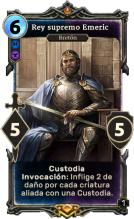 Rey supremo Emeric (Legends)