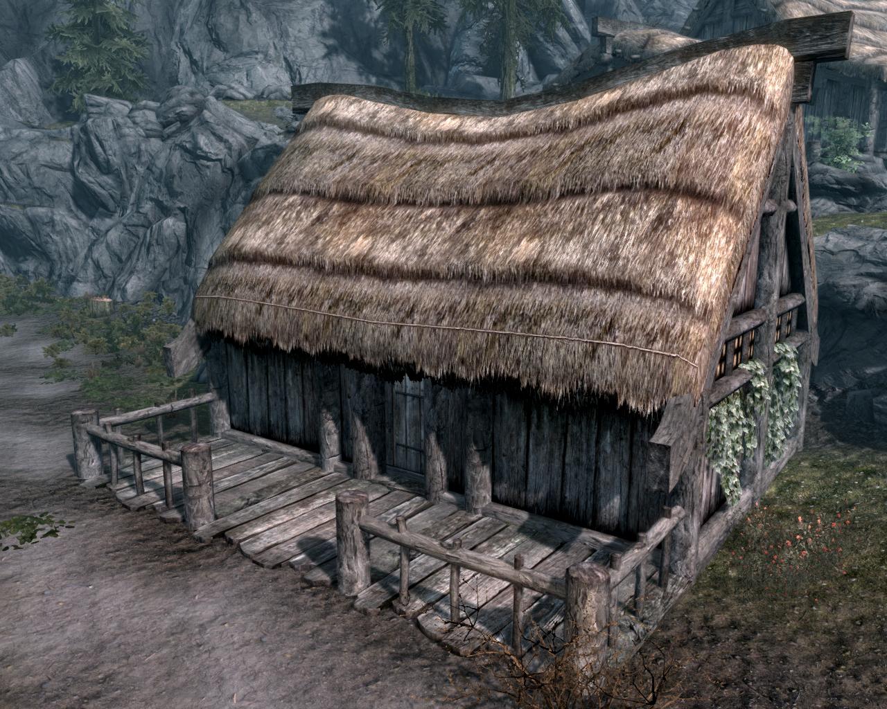 Драконий Мост — Посёлок лесорубов