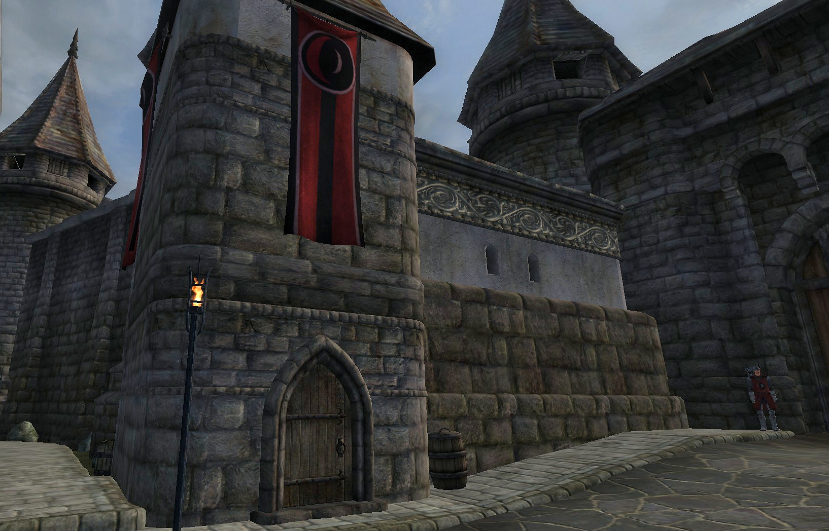 Skingrad Town Guard House