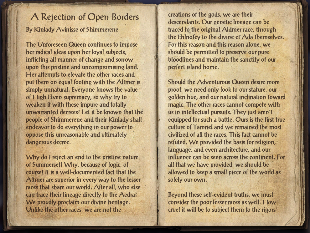 A Rejection of Open Borders