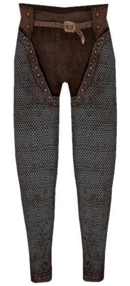 Chainmail Greaves
