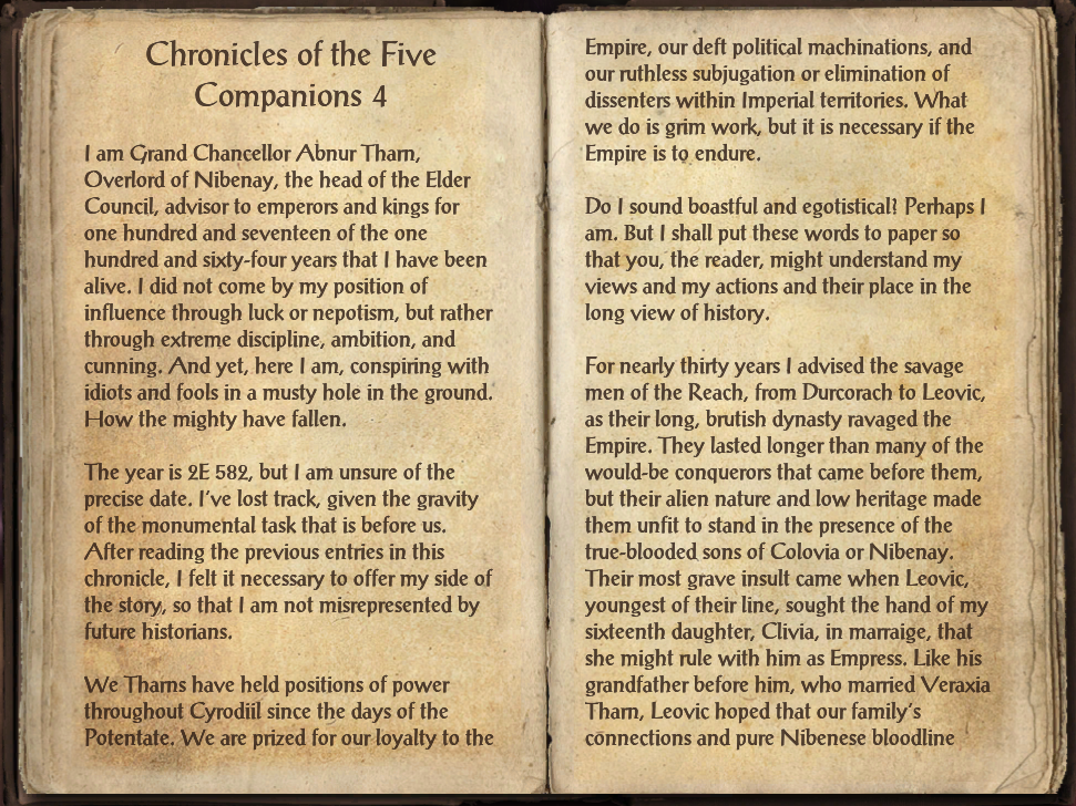 Chronicles of the Five Companions 4