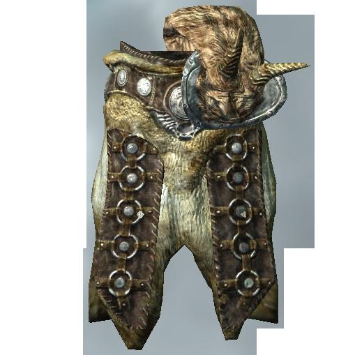 Ламеллярная броня с рогами