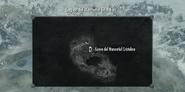 Cueva del Manantial Cristalino mapa2 SK
