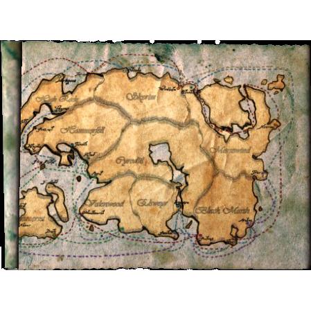 Морская карта Восточной имперской компании