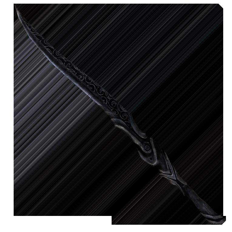 Эбонитовый меч